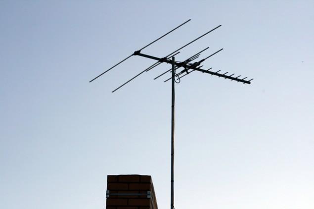 Chimney Antenna Mast ~ Antennas installation melbourne new image antennasnew